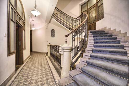The Residence Brehova House staircase