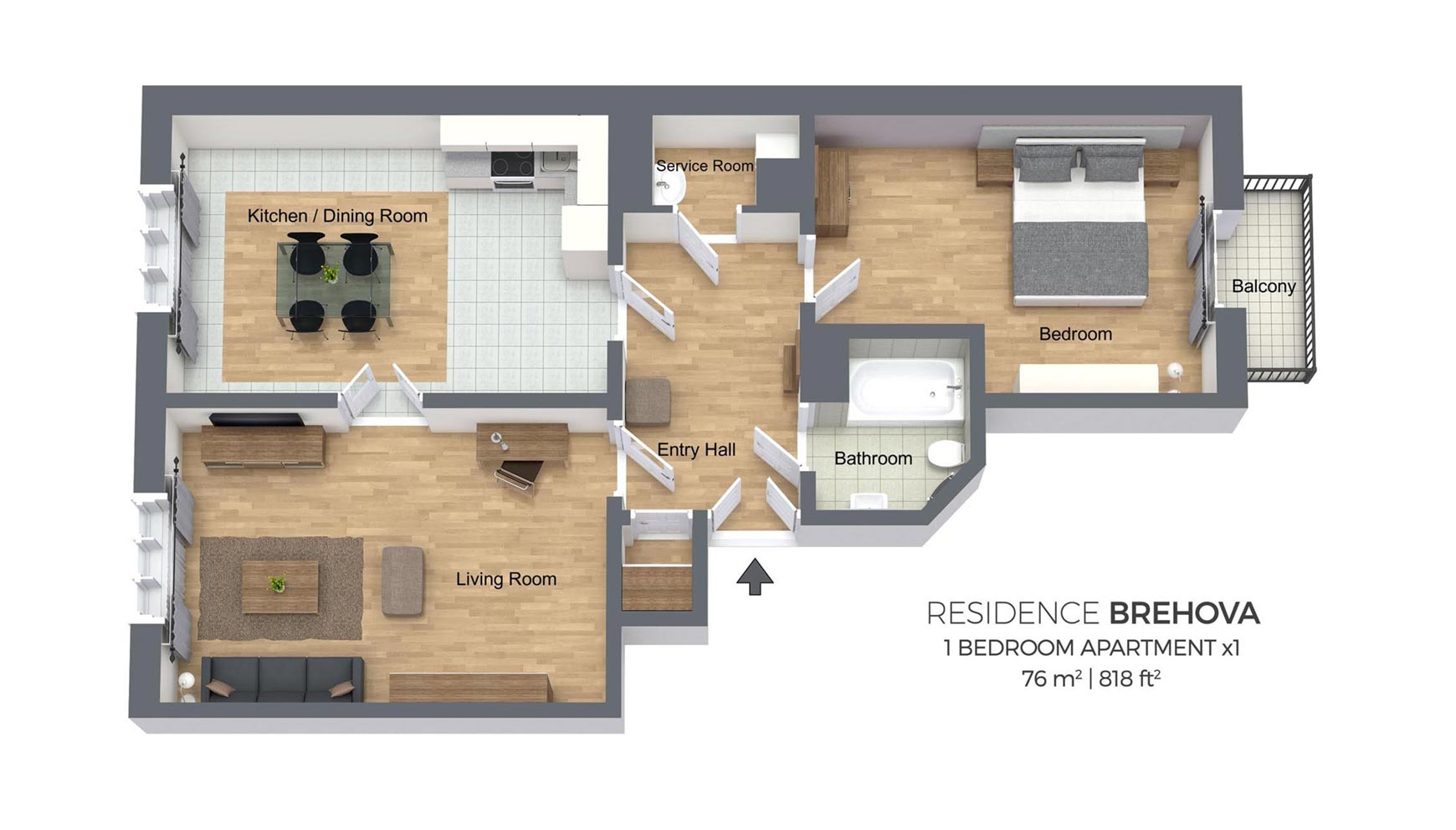 Canal Place Apartments Floor Plans